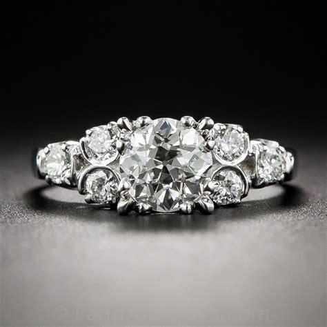 95 carat vintage engagement ring i si1