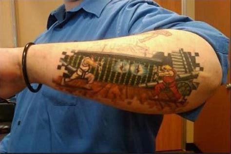 street fighter tattoo llotphavimo fighter tattoos