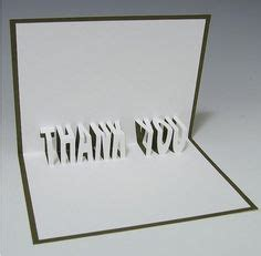 Ribbon Thank You Pop Up Card Template Creative Pop Up Cards Card Crafts Pinterest Card Thank You Pop Up Card Template