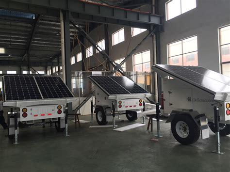 Solar L Post For Rv by Solar Trailer