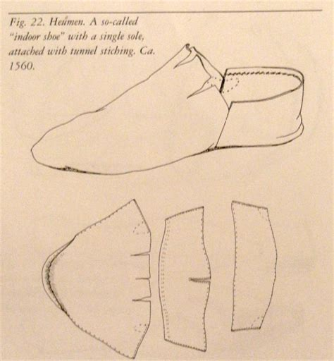 shoes pattern design software lesson 7 mid 16th c shoes stacked leather chopine