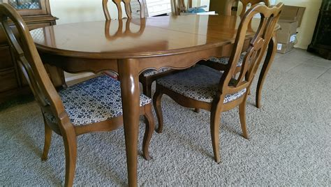 drexel heritage dining room table chairs dining room drexel dining room set midcentury walnut dining table