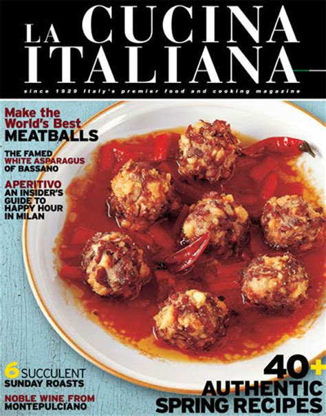 rivista cucina italiana la cucina italiana italian cuisine magazine