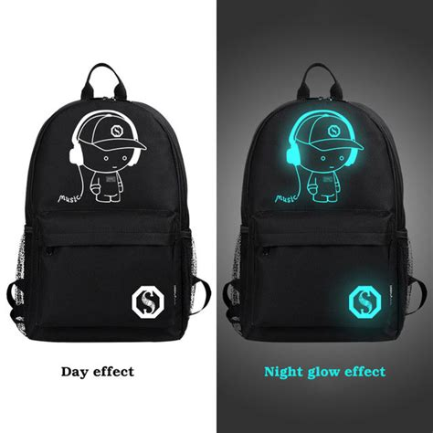 Tas Ransel Backpack Wanita Preppy Bag Keren Murah tas ransel oxford glow in the model kid