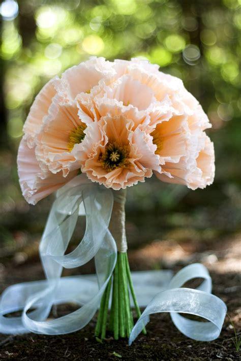 Handmade Wedding Bouquet Ideas - vinnie s handmade paper flowers bridal bouquet in