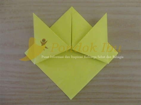 Berudu Anak Katak gambar origami berudu kecebong anak langkah awal membuat