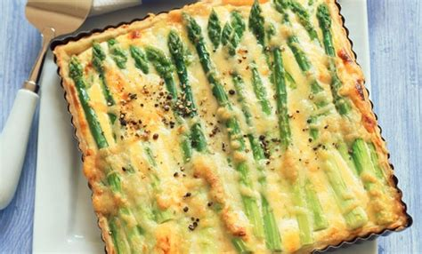 cucina veloce e gustosa torta salata con asparagi ricetta veloce e gustosa leitv