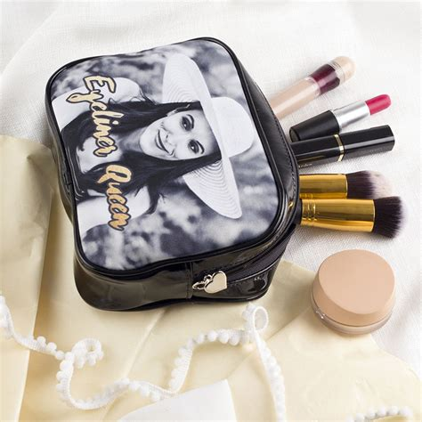 Personalized Handmade Bags - personalized makeup bags custom printed makeup bags with