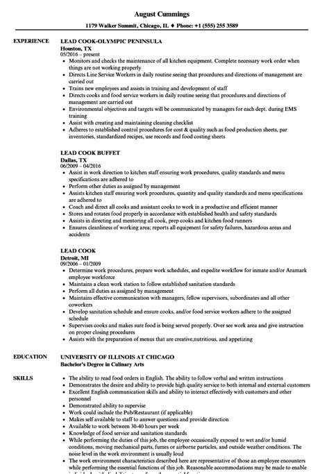 line cook resume skills abcom