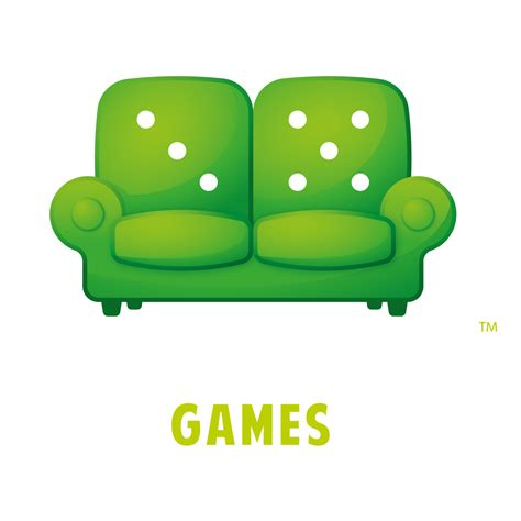 couch games green couch games