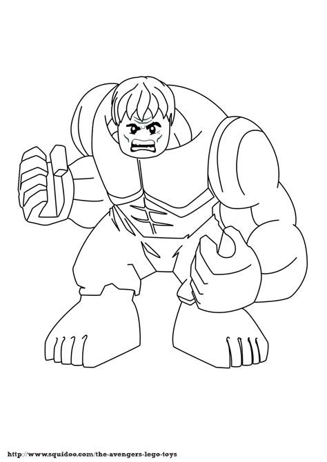 imgs for gt superhero squad hulk coloring page