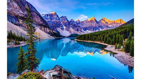 blue lake nature 4k wallpaper free 4k wallpaper
