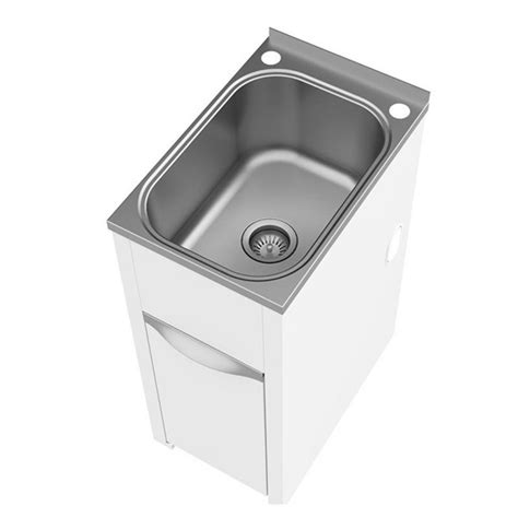 clark and cabinets reviews clark eureka 35 litre compact laundry tub and cabinet at
