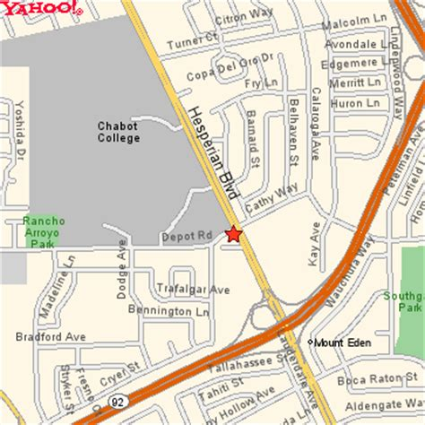 las positas college map chabot driving directions