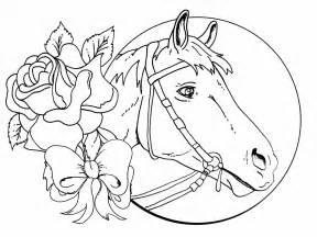 Ausmalbilder Pferde Voltigieren   Tier Fotos