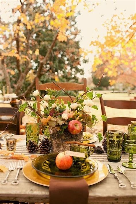 fall decorations for tables 30 festive fall table decor ideas