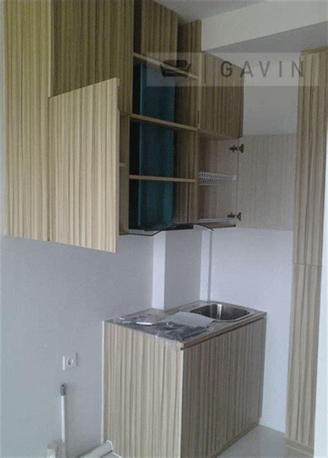 Lemari Custom Per Meter kitchen set minimalis modern apartment kebagusan city jakarta selatan kitchen set minimalis