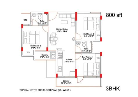 Floor Plans Under 600 Sq Ft by Aswani Sunshine In Sarjapur Bangalore Price Floor