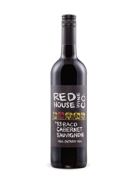 house wine red house wine co baco cabernet sauvignon vqa lcbo