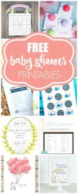 free downloadable baby shower 15 free baby shower printables pretty my