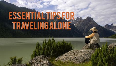 going it alone essential tips for the independent consultant books united planet essential tips for traveling alone