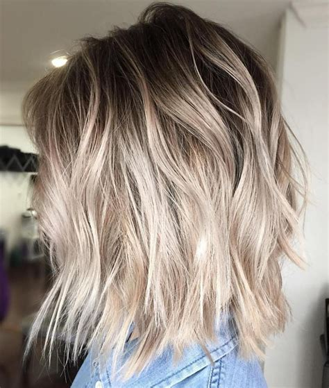 how to add brown roots on blonde hair 40 beautiful blonde balayage looks ash blonde balayage