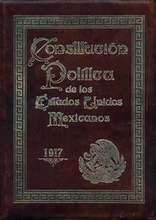 la constituci 243 n de 1917 y el centenario de la constituci 243 n pol 237 tica de los estados unidos mexicanos wikipedia la