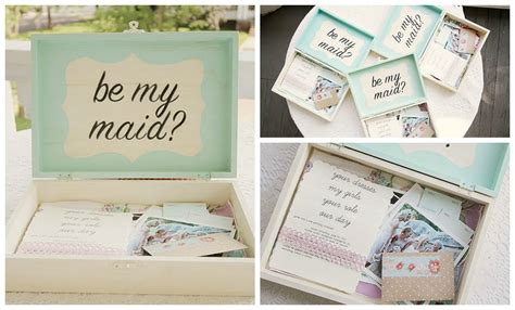 be my ideas 10 pretty will you be my bridesmaid ideas aisle