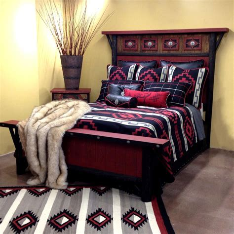 Western Bedding: King Size Lakota Lined Coverlet