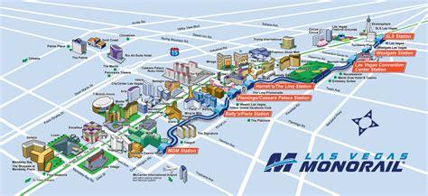 maps las vegas route map las vegas monorail