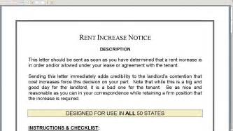 rent increase notice youtube