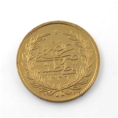 ottoman gold coins 1918 ottoman gold coin at 1stdibs