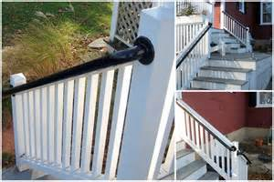 Lowes Banister Easy To Install Outdoor Stair Railing