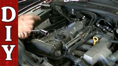 how cars engines work 1997 volkswagen passat electronic toll collection how to replace ignition coil and spark plugs on a vw passat audi a4 1 8l turbo engine youtube