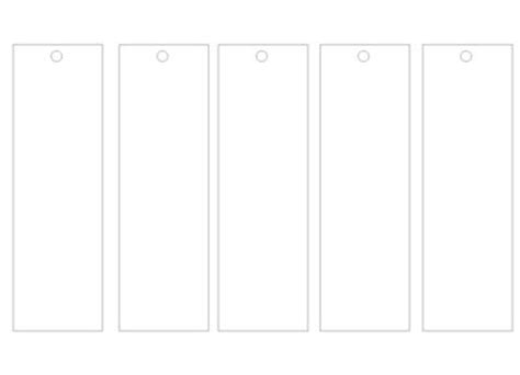 plain bookmark template best 25 bookmark template ideas on