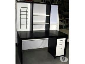 bureau noir ikea clasf