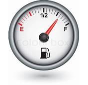 Car Fuel Gauge Vector Illustration  Stock Colourbox