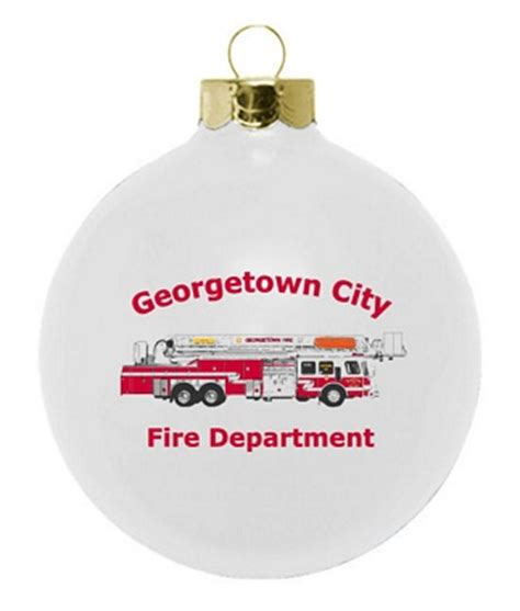fire department fund raising ornament