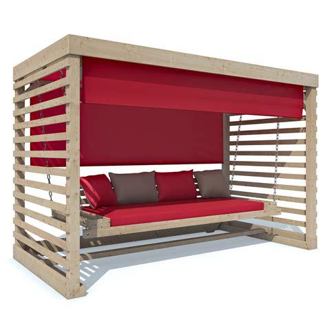 Gartenmöbel by Hollywoodschaukel Holz Gartenschaukel Schaukelbank