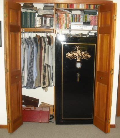 Safe In Closet by Where To Put A Gun Safe Find The Best Place Gun Safe