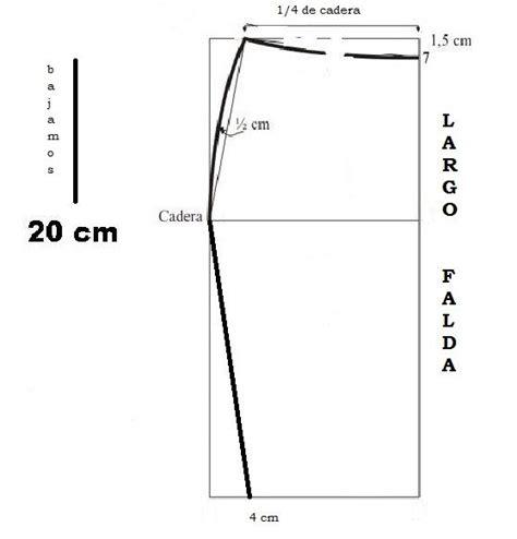 como hacer una falda cana media m 225 s de 25 ideas fant 225 sticas sobre patrones de falda en