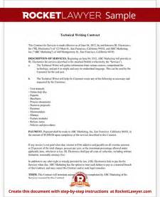 application technical documentation template technical writing contract agreement form with sle