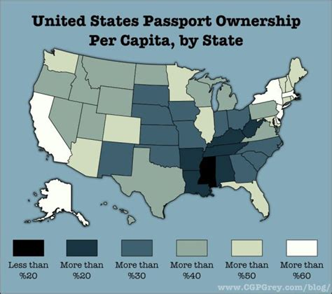 which state has the most owners per capita according to 2016 stats united states passport ownership per capita by state pictures quotes pics photos