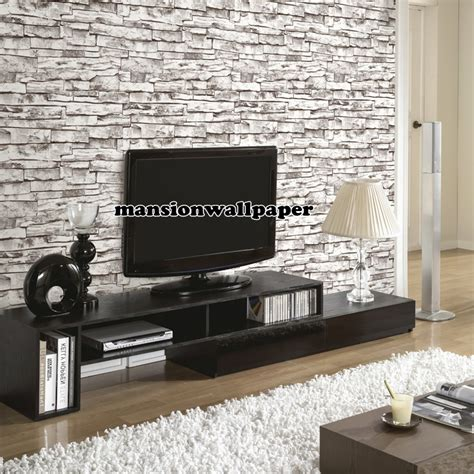 Wallpaper Dinding Motif 44 jual wallpaper dinding motif batu bata alam 3d tipe 2 mansion wallpaper