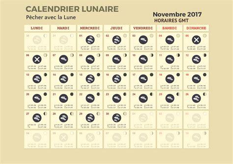 Calendrier Lunaire Octobre 2017 Calendrier Lunaire Pour La P 234 Che P 234 Cher Avec La Lune