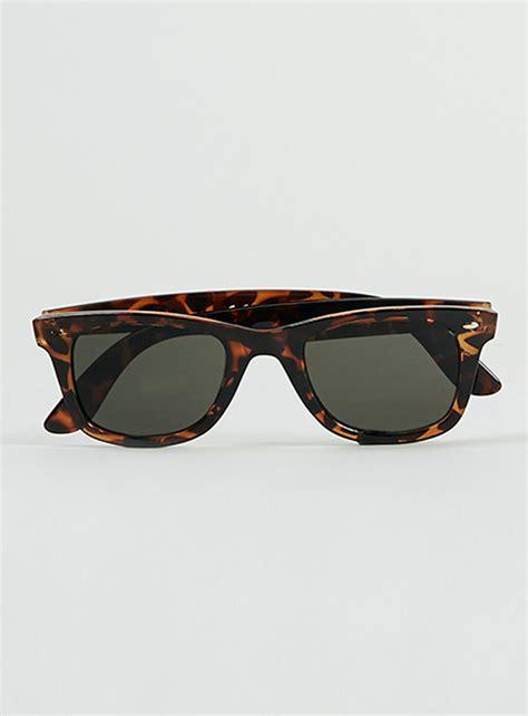 Tortoiseshell Sunglasses by Topman Tortoise Shell Sunglasses In Brown For Lyst