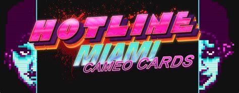 Hotline Miami Cards