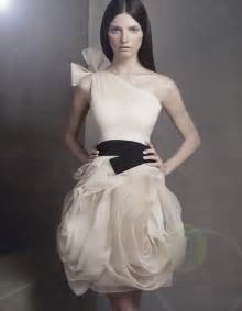 get chic bridesmaids with white by vera wang onewed