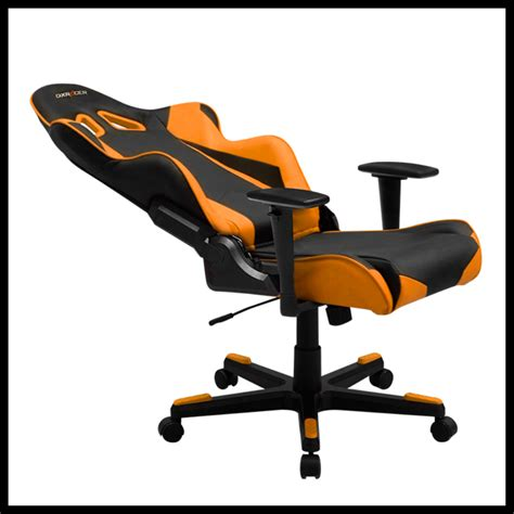 Dxracer Racing Series Black Orange Ohrv131no oh re0 no racing series gaming chairs dxracer official website