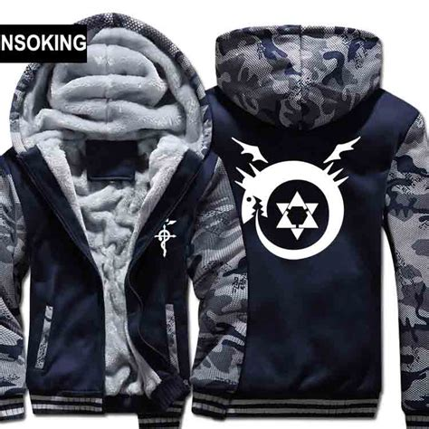 Sweater Hoodie Zipper Metal Alchemist fullmetal alchemist hoodie reviews shopping fullmetal alchemist hoodie reviews on
